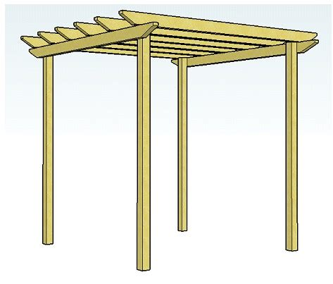 Easy Pergola Plans For Beginners